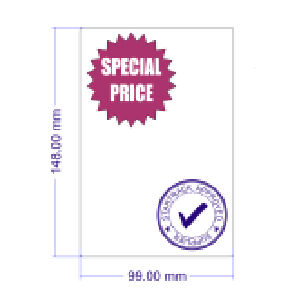 Lowest Price Startrack Labels - 80 rolls